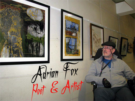 Adrian Fox. Poet and Artist